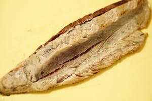 カツオのタタキサラダ 調理