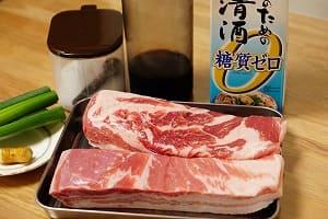 豚の角煮 調理