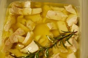ツナのオイル煮 調理