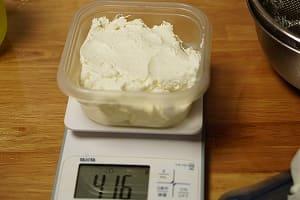 MCTクリームチーズ 調理