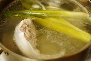豚タン醤油漬け 調理